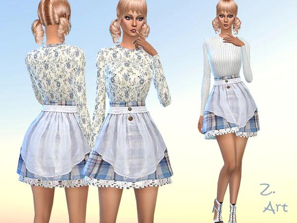 The Sims Resource: Blue Romance by Zuckerschnute20
