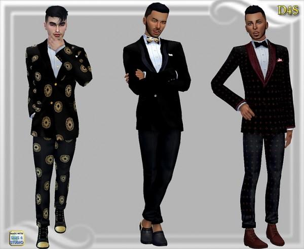 Dreaming 4 Sims: Mens jacket and pants