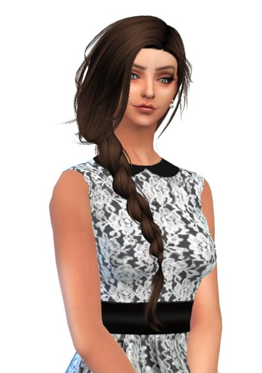 Hinarcia Sims 4: Ashley sims model