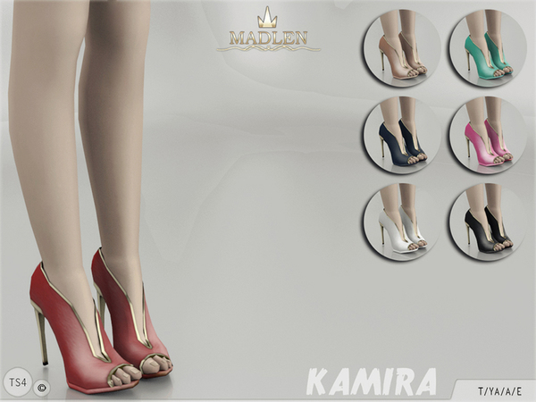 The Sims Resource: Madlen Kamira Boots by MJ95