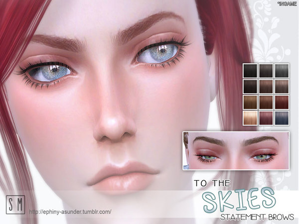 The Sims Resource: To The Skies   Statement Brow by Screaming Mustard