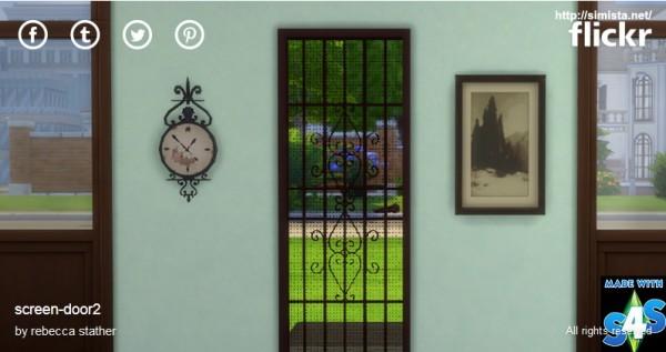 Simista Screen Door Sims 4 Downloads