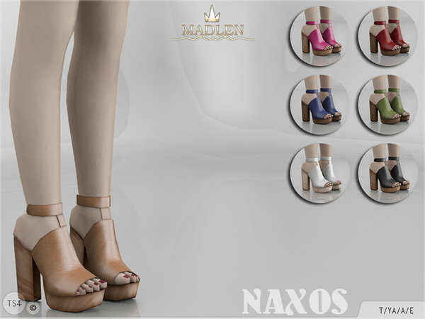 The Sims Resource: Madlen Naxos Shoes by MJ95