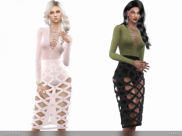 The Sims Resource: Lorena Set by toksik