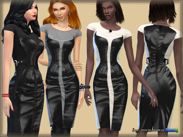 The Sims Resource: Corset Dress by Bukovka