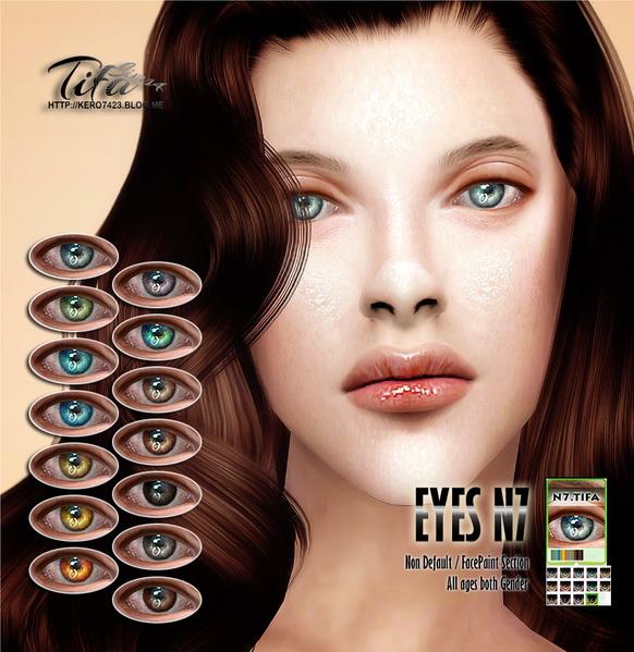 Tifa Sims: Eyes N7