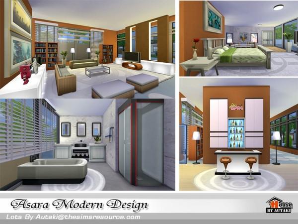 The Sims Resource: Asara modern design by Autaki
