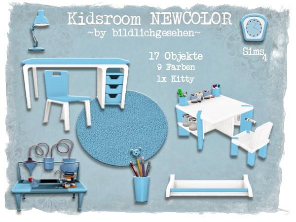 Akisima Sims Blog: Kidsroom Newcolor