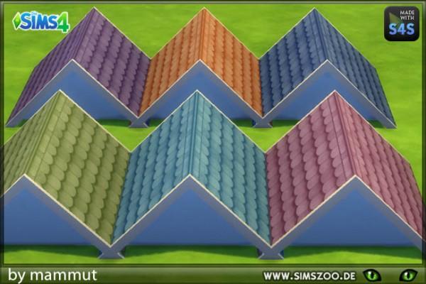 Blackys Sims 4 Zoo: Fairytale roof Pastel 2