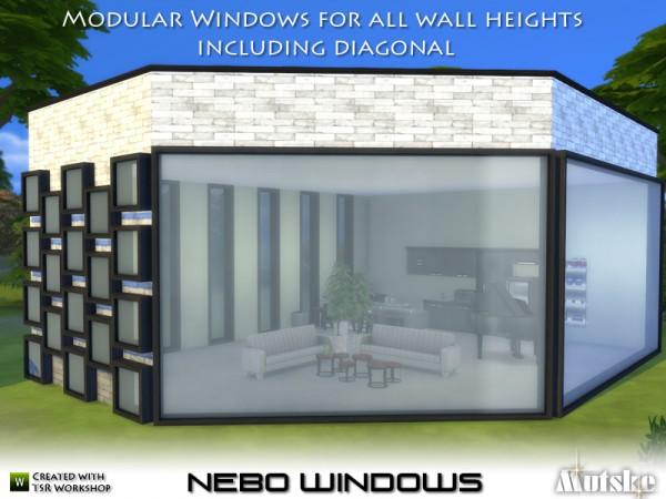 The Sims Resource: Nebo Windows by mutske