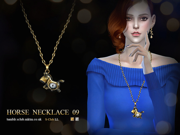 The Sims Resource: Necklace N09 by S Club