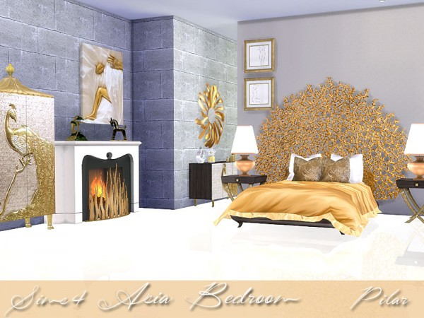 SimControl: Asia Bedroom by Pilar