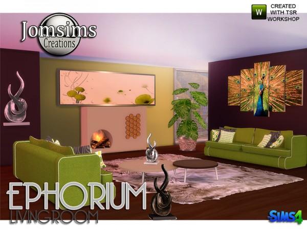 The Sims Resource: Ephorium Livingroom by jomsims