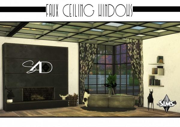 Sims 4 Designs Faux Ceiling Windows Sims 4 Downloads