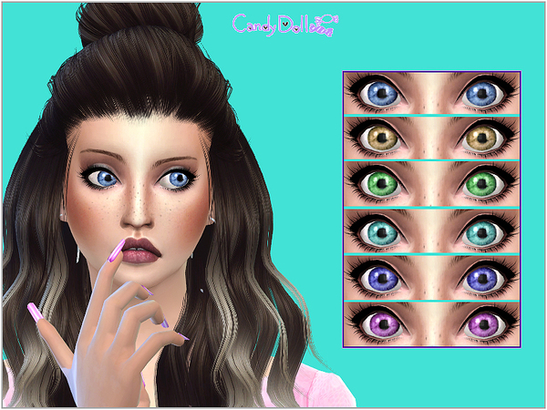 The Sims Resource: Candy Doll CuteBaby Eyes by DivaDelic06