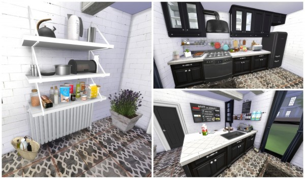 Dinha Gamer: Black Kitchen
