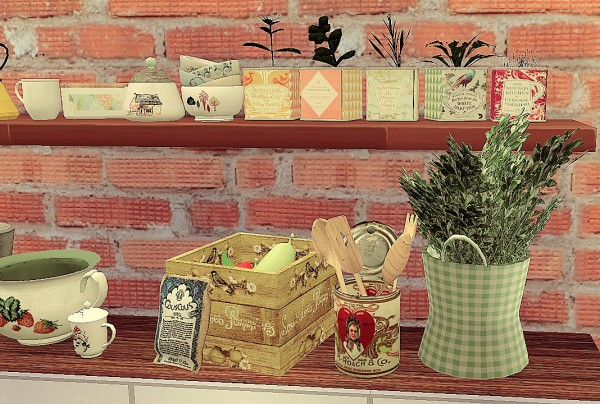 Coralitt Sims: Some little clutters for your kitchens
