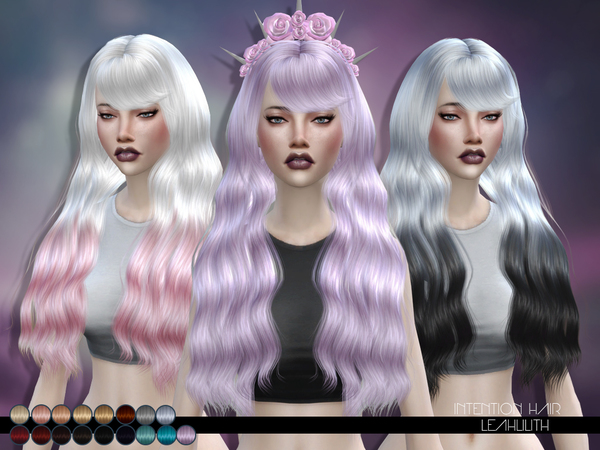 The Sims Resource: LeahLillith Intention Hair