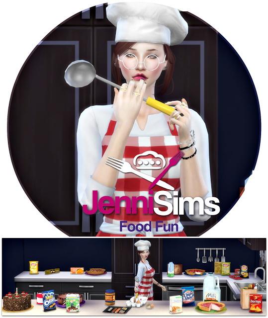 Jenni Sims: Food Fun Spoon 20 decorative items