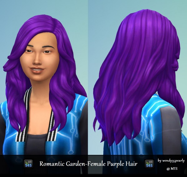 Mod The Sims: Romantic Gardens Purple by wendy35pearly