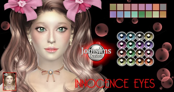 Jom Sims Creations: Innocence eyes