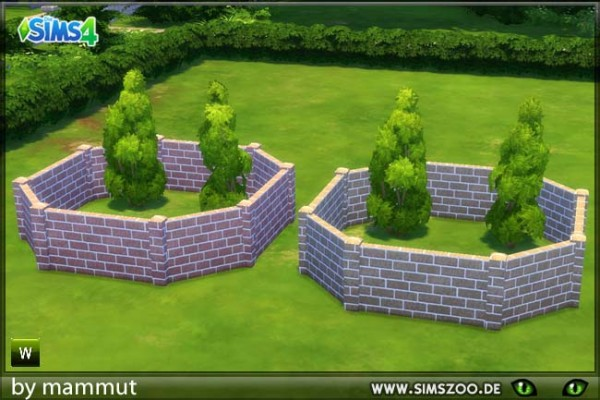 Blackys Sims 4 Zoo: Brick oven red brown by mammut