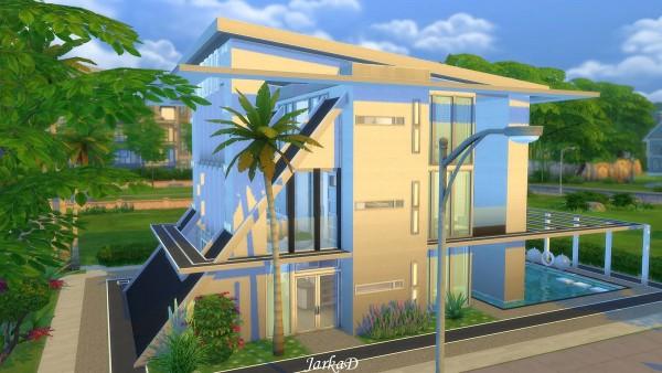 JarkaD Sims 4: Atypic villa