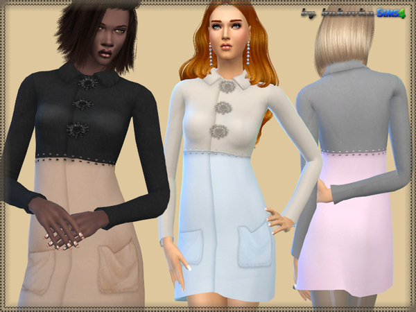 The Sims Resource: Coat Belle by bukovka