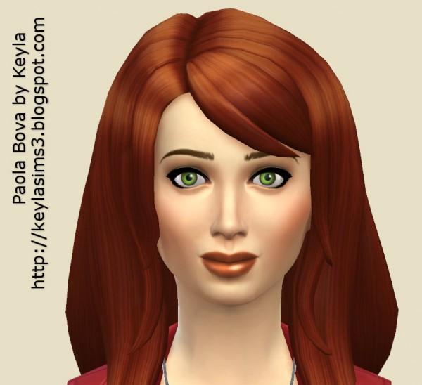 Keyla Sims: Paola Bova sims model