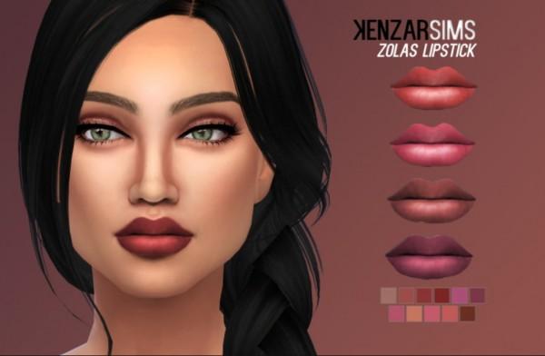 Kenzar Sims: Zolas lipstick