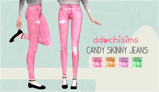 Miwamoe: Candy Skinny Jeans