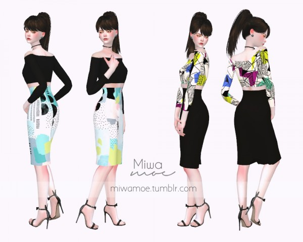 Miwamoe: Supa Dupa Diva Pencil Dress