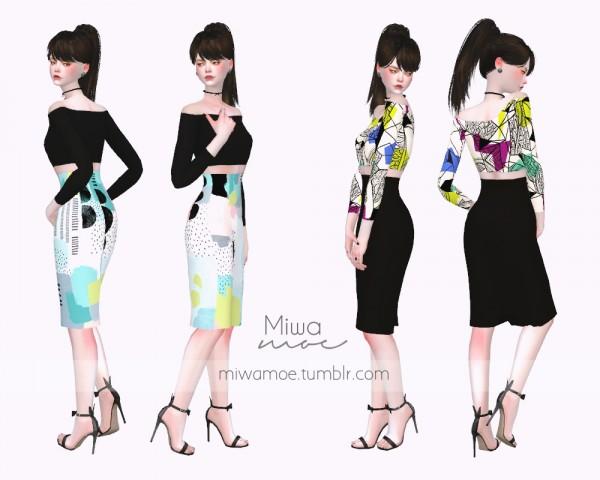 Miwamoe: Supa Dupa Diva Pencil Dress