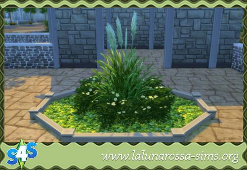 La Luna Rossa Sims: Yellow Flowers Terrain
