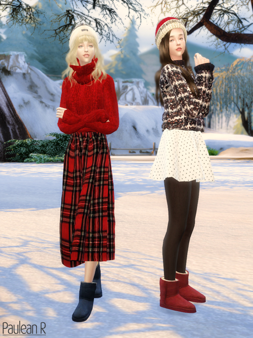 the sims 3 ugg boots