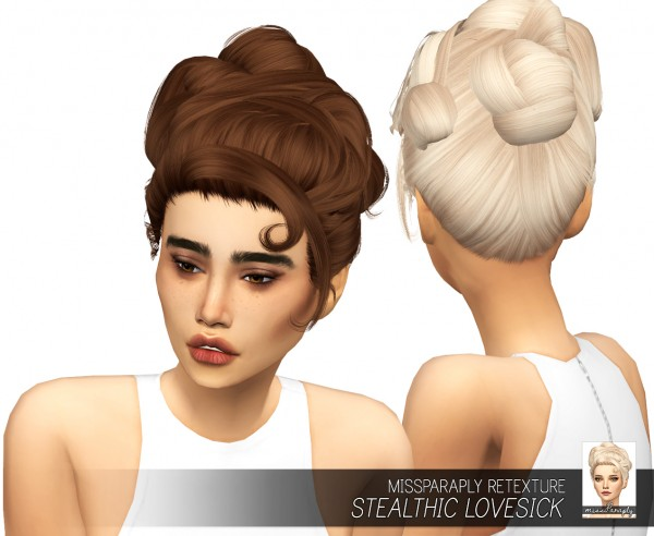 Miss Paraply: Stealthic Lovesick: Solids hairstyle