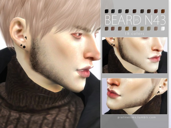 The Sims Resource: Beard Pack N05 by Pralinesims