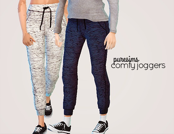 Pure Sims: Comfy joggers