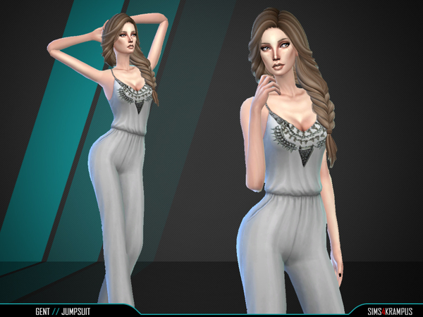 The Sims Resource: Gent Jumpsuit by SIms4Krampus