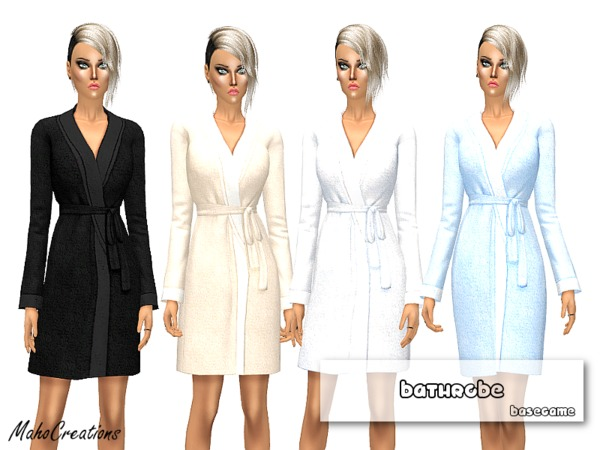 The Sims Resource: Bathrobe by MahoCreations