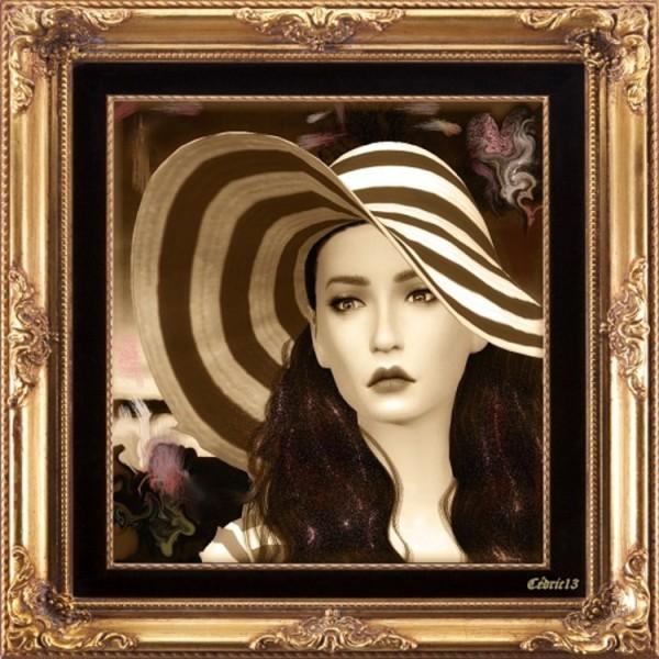 L`Universe De Nicole: Scarlett O Hara  painting