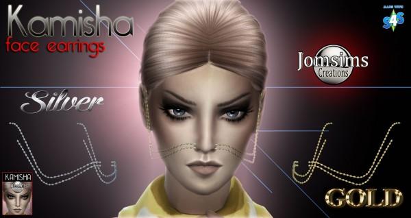 Jom Sims Creations: KAMISHA Visage