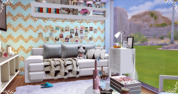 Mony Sims: Teenager Bedroom