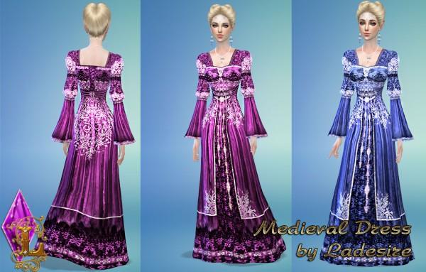 Ladesire Creative Corner: Medieval Dress