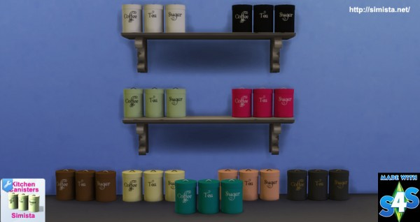 Simista: Kitchen Canisters Clutter