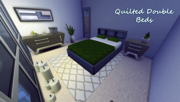 Hamburgercakes: Mattress for double bed