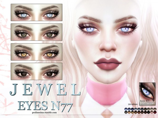 The Sims Resource: Crystal Eye Pack N10 by Pralinesims