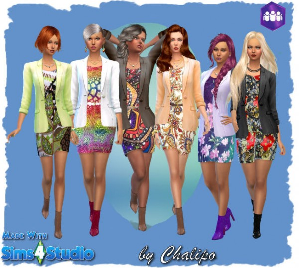 All4Sims: Jack dress