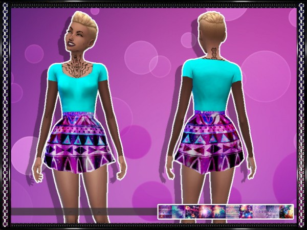Simsworkshop: Nebula dress by grrlnglasses