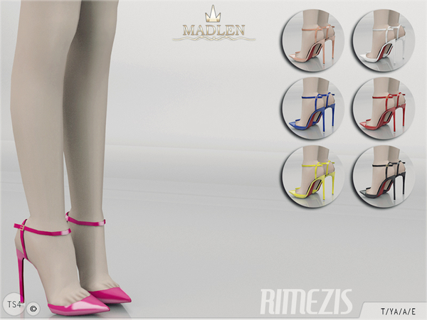 The Sims Resource: Madlen Rimezis Shoes by MJ95